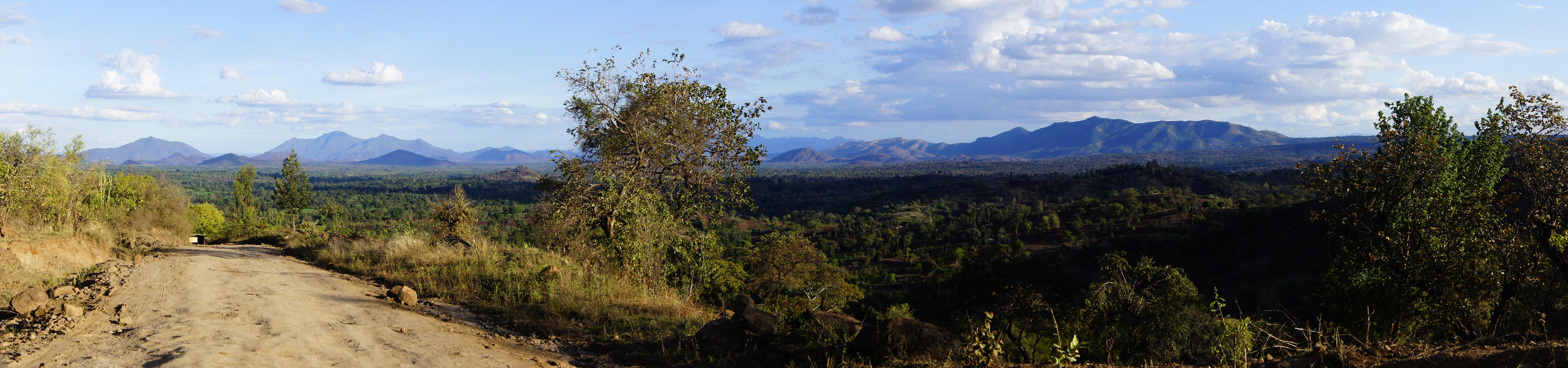 Panorama des kenianischen Hochlands