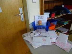 Briefe aus Deutschland für Kenia