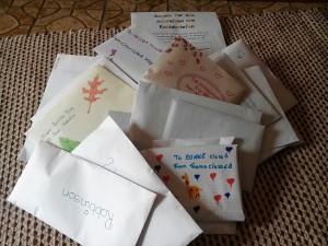 Neue Briefe für die St.Francis